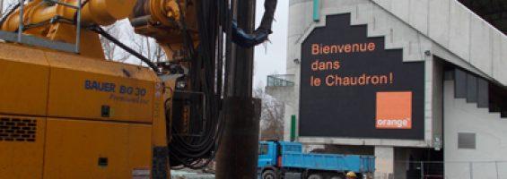Geoffroy Guichard – Extension tribunes